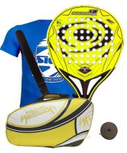PACK VISION AVALANCHE 1.3 PRO Y PALETERO PADEL SESSION PREMIUM