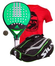 PACK ADIDAS REAL POWER CTRL 1.8 Y PALETERO SIUX MASTERCOMBI