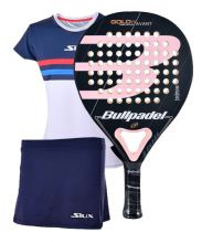 PACK BULLPADEL GOLD 3.0 WOMAN Y EQUIPACI�N LUXURY