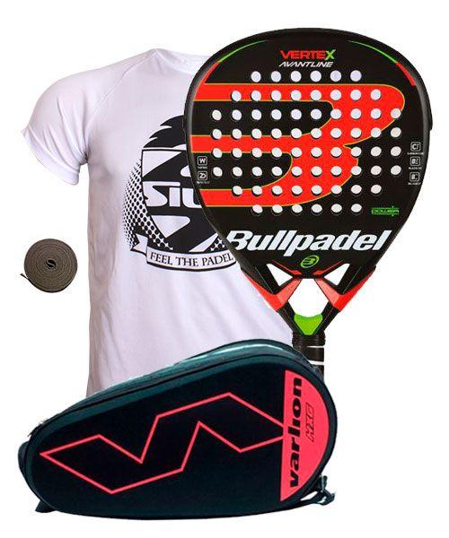 Hay una necesidad de jefe público  Pack Bullpadel Vertex Avantline and Varlion Hexagon coral padel racket bag  | Economy Padel Packs