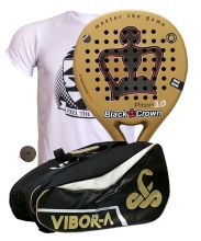 PACK BLACK CROWN PITON 3.0 Y PALETERO VIBOR-A MAMBA