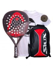 PACK HEAD GRAPHENE SPEED AND SIUX RED BACKPACK