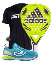 PACK ADIDAS NITROCHARGE ATTK AND BULLPADEL VERTEX SHOES