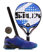 PACK SIUX ADRENALINE AND WILSON KAOS PADEL SHOES