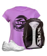PACK VARLION V-ADV CLASS WOMEN PADEL SHOES AND SIUX SILVER BACKPACK