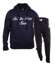 SIUX OUTFIT CLASSIC NAVY SWEATSHIRT AND DIABLO NAVY SWEATPANTS