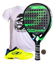 PACK BULLPADEL VERTEX CONTROL 2018 AND BULLPADEL VERTEX PADEL SHOES