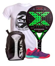 PACK NOX INTEGRAL PRO SERIES P.1 AND BABOLAT PROPULSE WOMEN PADEL SHOES