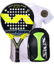 PACK VARLION LW CARBON 3 GT AND SIUX YELLOW BACKPACK