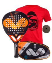 PACK EME EXTREME POWER PRO 2018 AND EME ALUMINIUM PADEL RACKET BAG