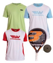 PACK BULLPADEL LEGEND 2.0 LIMITED AND WINGPADEL SHIRTS