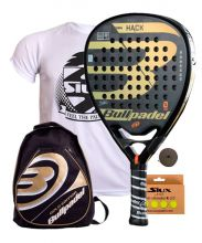 PACK BULLPADEL HACK 2018 AND GOLD BACKPACK