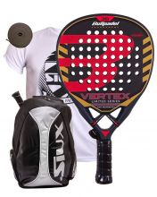 BULLPADEL VERTEX LIMITED SERIES AND SIUX SILVER BACKPACK