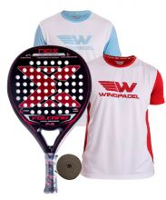 PACK NOX VOLCANO PRO P.3 AND 2 WINGPADEL SHIRTS