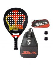 PACK BLACK CROWN MASAI CONTROL, SIUX SIDEBAG AND SIUX TOILET BAG