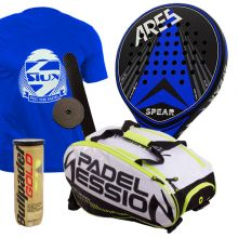 PACK ARES SPEAR Y PALETERO PADEL SESSION MATRIX 3