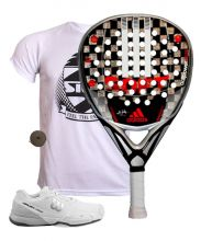 PACK ADIDAS ADIPOWER ATTK SOFT 1.8 AND WILSON RUSH PADEL SHOES