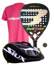 PACK BULLPADEL VERTEX 2 WOMAN AND SIUX PADEL BAG