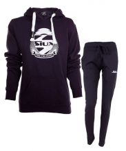 OUTFIT SIUX NAVY BLUE WOMEN SWEATSHIRT AND NAVY BLUE SWEATPANTS