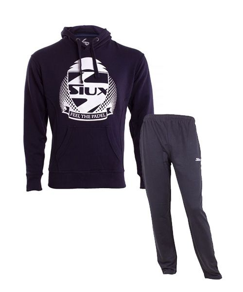 Siux Outfit Classic New Navy Sweatshirt And Bandit Navy Sweatpants