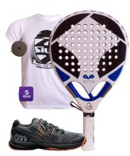 PACK EME TITANIUM WHITE 3 AND WILSON PADEL SHOES