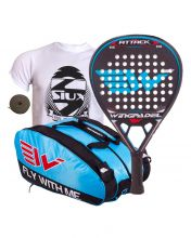 PACK WINGPADEL AIR ATTACK AND  WINGPADEL WESKAR PADEL RACKET BAG