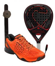 PACK VIBORA KING COBRA LIQUID Y ZAPATILLAS WILSON KAOS