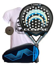 PACK ECLYPSE LUNAR CARBON Y PALETERO VARLION HEXAGON AZUL