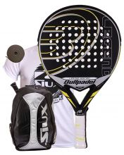 PACK BULLPADEL LEGEND LIMITED Y MOCHILA SIUX