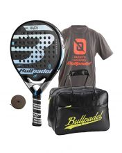 PACK BULLPADEL HACK CONTROL 2018 AND BULLPADEL BLACK BAG BPB 16002