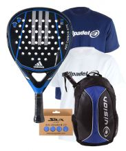 PACK ADIDAS PRO CARBON ATTK 1.9 AND BACKPACK VISION BLUE