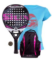 PACK SIUX OPTIMUS PRO FUCHSIA AND SIUX DIABLO FUCHSIA BACKPACK
