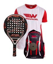 PACK NOX STUPA FULL CARBON HYBRID 2017 AND WINGPADEL WOMBER BACKPACK