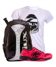 PACK KELME K-SPIKE PADEL SHOES AND SIUX TRAIL BACKPACK AND SHIRT