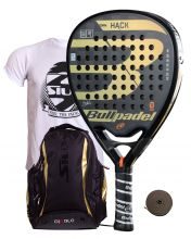 PACK BULLPADEL HACK 2018 AND SIUX DIABLO GOLD BACKPACK