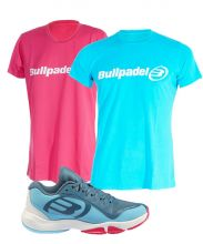 PACK BULLPADEL FLOW Y CAMISETAS BULLPADEL