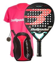 PACK BULLPADEL FLOW 2020 Y SAC � DOS VISION ROUGE