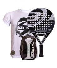 PACK BULLPADEL SILVER EDITION AND SIUX TRAIL BACKPACK