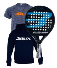 PACK BULLPADEL SKY BLUE AND TEXTILE SIUX
