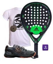 PACK ADIDAS ADIPOWER CTRL AND WILSON PADEL SHOES