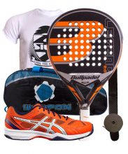 PACK BULLPADEL LEGEND 2.0 LIMITED EDITION AND ASICS GEL PADEL EXCLUSIVE 4SG