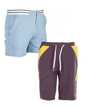 PACK VARLION ANNIVERSARY SKY BLUE SHORTS AND HS12S10 GREY SHORTS
