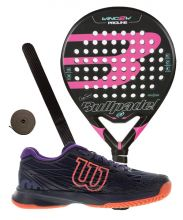 PACK BULLPADEL WING 2 WOMAN 2017 Y ZAPATILLAS WILSON ASTRAL