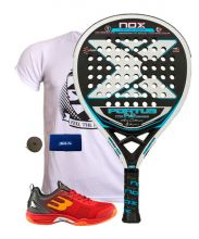 PACK NOX PORTU 9.3 Y ZAPATILLAS BULLPADEL BEWER