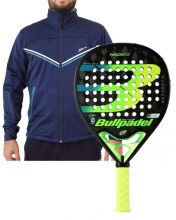 PACK BULLPADEL HACK 20 Y SOFTSHELL SIUX FUSION AZUL