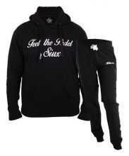 SIUX OUTFIT CLASSIC BLACK SWEATSHIRT AND FURTIVE BLACK SWEATPANTS