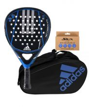 PACK ADIDAS PRO CARBON ATTK 1.9 AND PADEL BAG CONTROL CRB