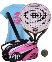 PACK VISION AVALANCHE 1.3 MUJER Y PALETERO PADEL SESSION SERIES PRO