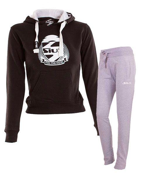 equipacion-siux-mujer-sudadera-belice-negro-y-pantalon-bandit-gris