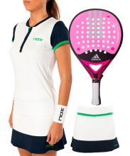 PACK ADIDAS REAL POWER CTRL 1.8 WOMAN, NOX PRO POLO AND NOX PRO SKIRT